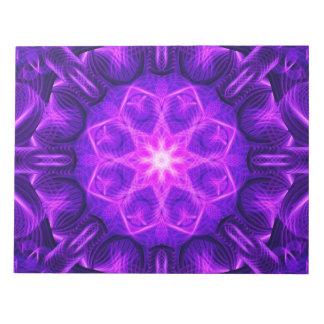Velvet Star Mandala Notepads