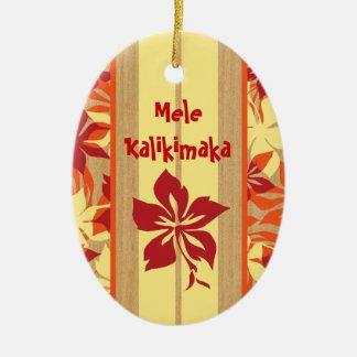 Velzyland Surfboard Ornament
