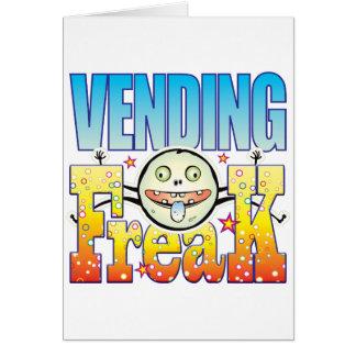 Vending Freaky Freak Card