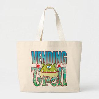 Vending Troll Large Tote Bag