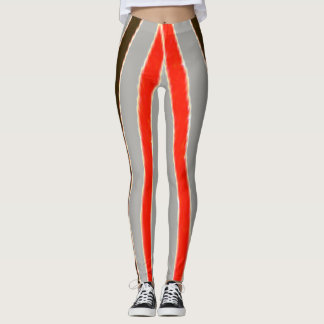 Vendradi Racing Striped Leggings