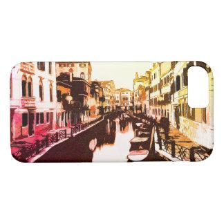 Venedig, Venice Panorama Rainbow Popart iPhone 8/7 Case