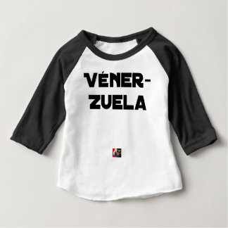 VÉNER-ZUELA - Word games - François City Baby T-Shirt