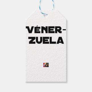VÉNER-ZUELA - Word games - François City Gift Tags