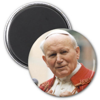 Venerable Pope John Paul II 6 Cm Round Magnet