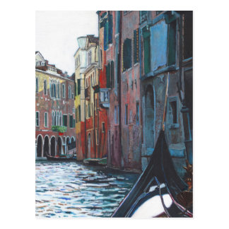 Venetian backwater 2012 postcard