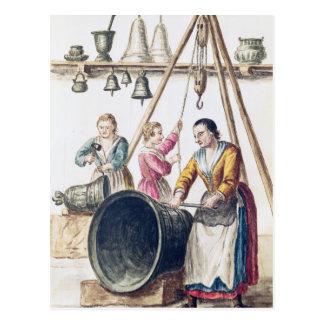 Venetian Bellmaker's Shop Postcard