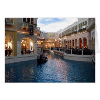 Venetian Canal Card