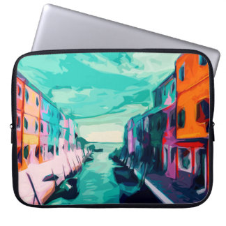 Venetian Canal Laptop Sleeve