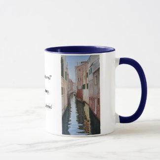"""Venetian Canals"" Mug"