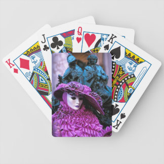 Venetian Carnival Bicycle Playing Cards