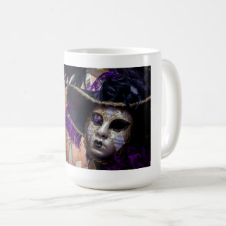 Venetian carnival mask for sale coffee mug