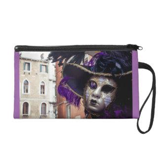Venetian carnival mask for sale wristlet