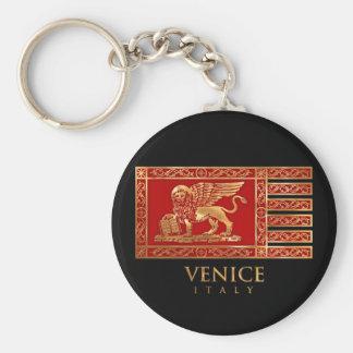 Venetian Flag Key Ring