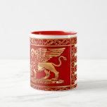Venetian Flag Two-Tone Mug