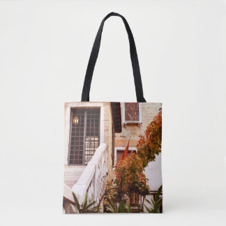 Venetian glimpse tote bag