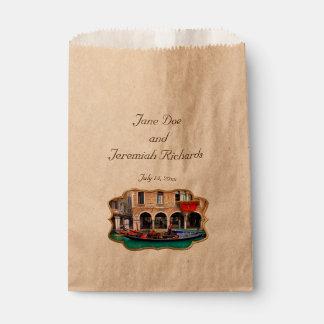 Venetian Gondolas Favour Bag