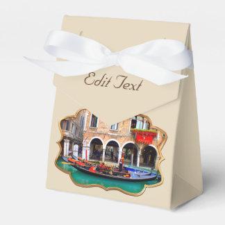 Venetian Gondolas Favour Box