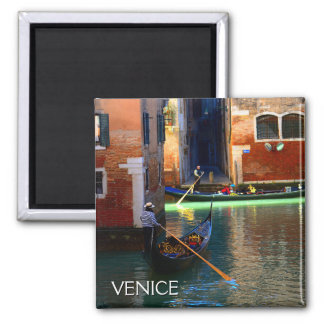 Venetian Gondoliers Magnet
