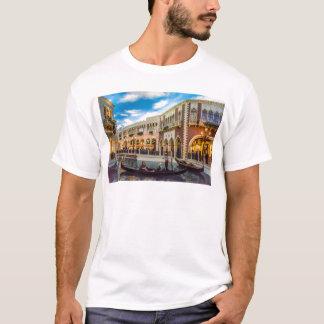 Venetian Las Vegas Gondola Canal Architecture T-Shirt