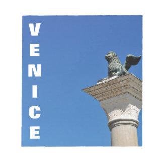 Venetian lion notepad