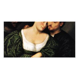 Venetian Lovers By Bordone Paris (Best Quality) Photo Cards