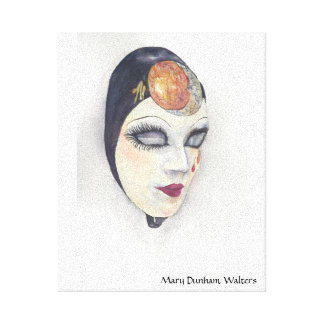 Venetian Mask 1 Canvas Print