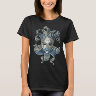 Venetian Mask Black T-Shirt