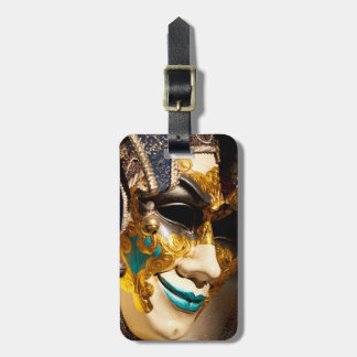 Venetian Mask Luggage Tag