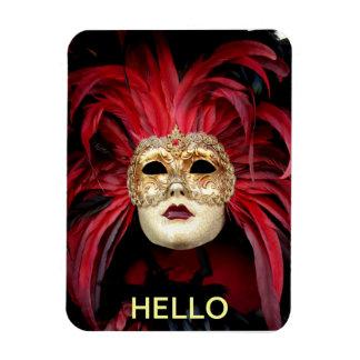 Venetian Mask Magnet