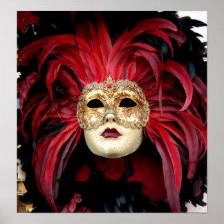 Venetian Mask Print