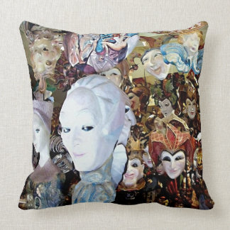 Venetian Masks 2 Cushion