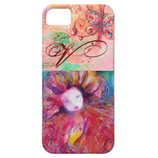 VENETIAN MASQUERADE - MASK IN RED MONOGRAM iPhone 5 COVER