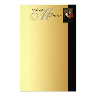 Venetian Masquerade Monogram Wedding Stationary Personalized Stationery
