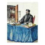 Venetian Moneylender, from an illustrated book Postcards