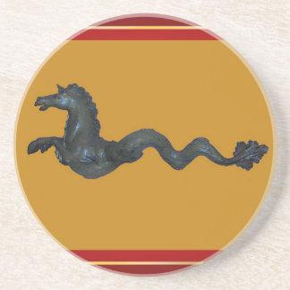 Venetian Murano Glass Horse Coaster