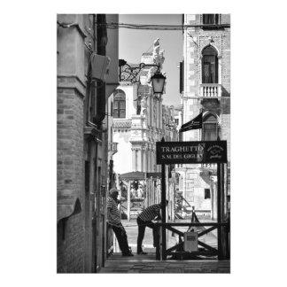 Venetian Scenes - Photo Print