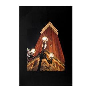 Venetian Street Light Las Vegas Acrylic Print