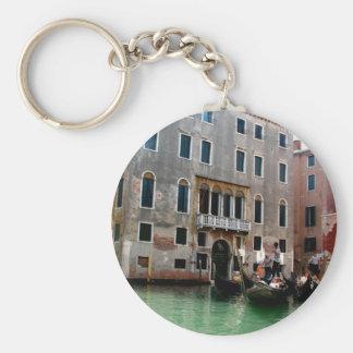 Venetian Traffic Basic Round Button Key Ring