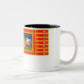 Veneto flag Two-Tone coffee mug