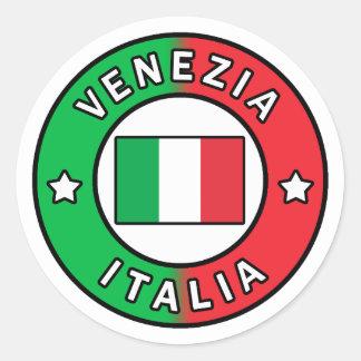 Venezia Italia Classic Round Sticker