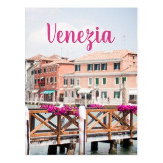 Venezia Postcard - Venice Italy Travel Photography