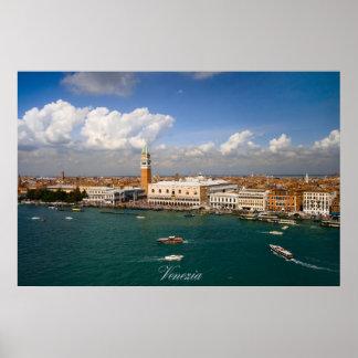 Venezia - Venice canal Poster