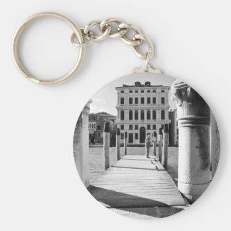 Venezia, Venice, Italy Basic Round Button Key Ring