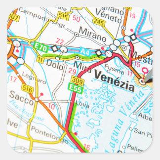 Venezia, Venice, Italy Square Sticker