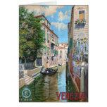 Venezia Venice Italy, Vintage Travel Poster Cards