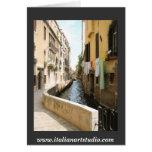 Venezia- Venice  www.italianartstudio.com Greeting Card