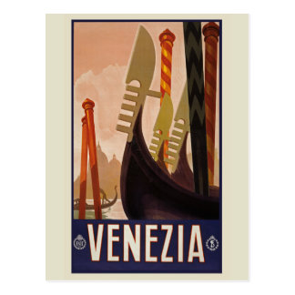 Venezia Vintage Postcard