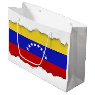 Venezuala Flag Large Gift Bag