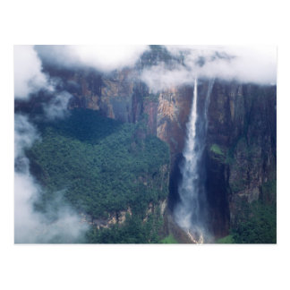Venezuela, Angel Falls, Canaima National Park Postcard